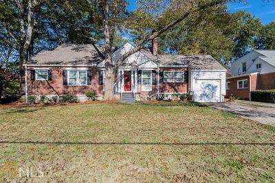 Decatur Single Family Home For Sale: 2422 N Decatur Rd