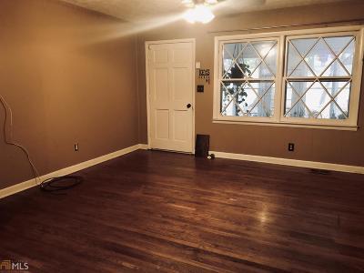 Acworth Single Family Home Under Contract: 3812 Cowan