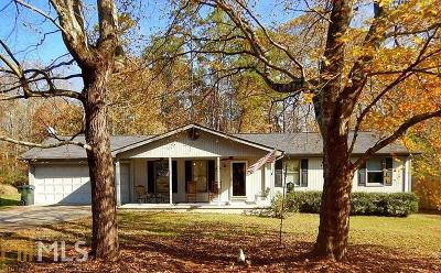 Cumming Single Family Home For Sale: 3495 Lakeside Ln