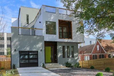 Reynoldstown Single Family Home For Sale: 125 Holiday Ave
