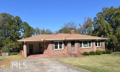 Buckhead, Eatonton, Milledgeville Single Family Home Under Contract: 321 E Magnolia