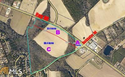 Statesboro Residential Lots & Land For Sale: Highway 80 E #Parcel C