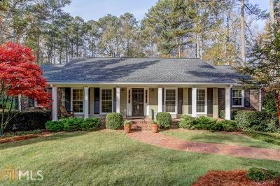 Sandy Springs Single Family Home For Sale: 770 Edgewater Trl