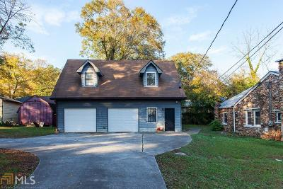 Dekalb County Multi Family Home Under Contract: 2838 Mitchell Pl