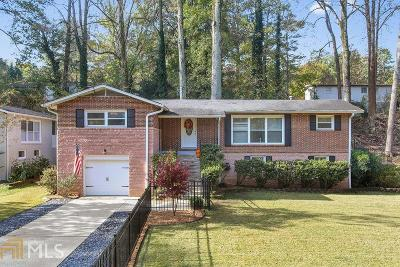 Chamblee Single Family Home Under Contract: 3820 Ensign Dr