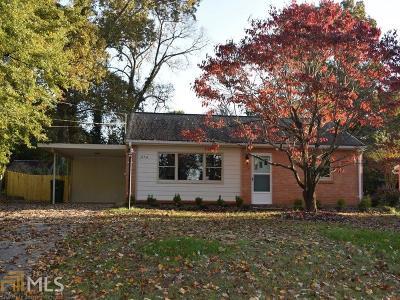 Atlanta Single Family Home New: 3356 Chappell Lane