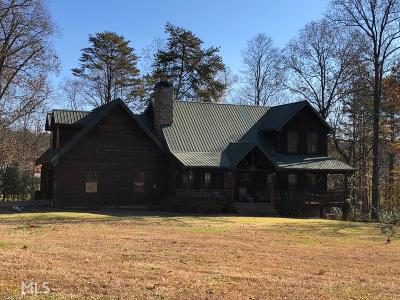 Clarkesville Single Family Home Under Contract: 4475 Talmadge Dr