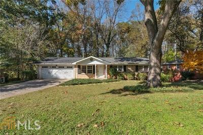 Roswell Single Family Home For Sale: 314 Crestview Cir