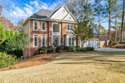 Roswell Single Family Home Under Contract: 4967 Fairhaven Way