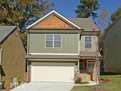 Acworth Single Family Home For Sale: 3361 Hickory Grove Rd