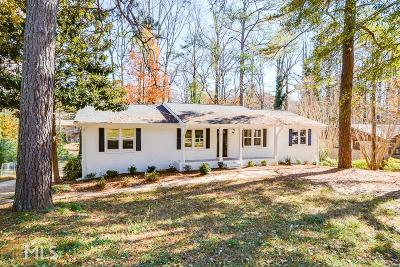 Smyrna Single Family Home For Sale: 4185 Fawn Ln