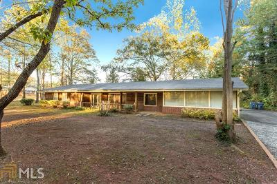Winder Single Family Home Under Contract: 1214 Ferguson Rd