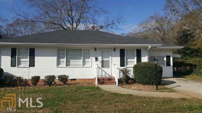 Monroe Single Family Home For Sale: 214 Alcovy St