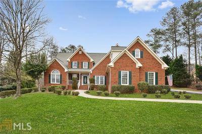 Suwanee Single Family Home For Sale: 4855 Moore Rd