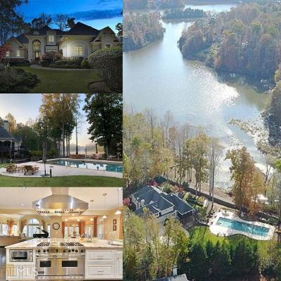 Peachtree City GA Single Family Home For Sale: $1,400,000