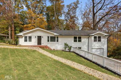 Tucker Single Family Home For Sale: 2629 Henderson Rd