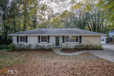 Mableton Single Family Home Under Contract: 5932 Ridge Dr