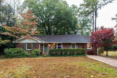 Decatur Single Family Home Under Contract: 2791 Laurel Ridge Dr