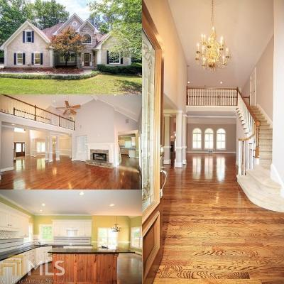 Snellville Single Family Home Under Contract: 4174 Lake Mist Ln