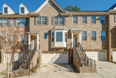 Roswell Condo/Townhouse For Sale: 3006 Manchester Cir
