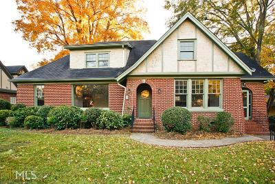 Avondale Estates Single Family Home Under Contract: 21 Kensington