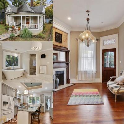 Grant Park Single Family Home For Sale: 499 Glenwood Ave