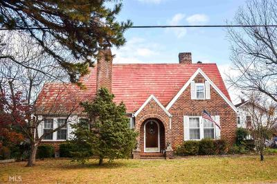 Banks County Single Family Home For Sale: 44 Homer St