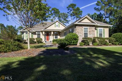 St. Marys Single Family Home Contingent With Kickout: 319 Osprey Cir
