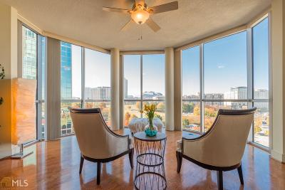 Museum Tower Condo/Townhouse Under Contract: 285 Centennial Olympic Park Dr #901