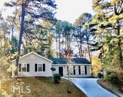 Stone Mountain Single Family Home Under Contract: 5139 Galbraith Cir
