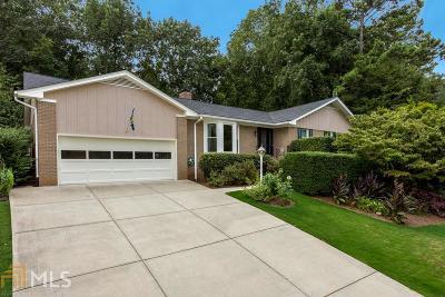 Atlanta Single Family Home Under Contract: 2279 Chrysler Ter