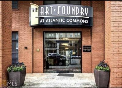 Atlanta Condo/Townhouse Back On Market: 400 17th St #1119
