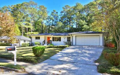 Decatur Single Family Home Under Contract: 2268 Saratoga Dr