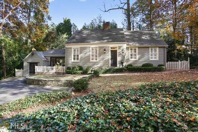 Atlanta Single Family Home Under Contract: 3957 Ivy Rd