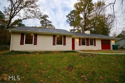 Snellville Single Family Home Under Contract: 3327 Oak Dr
