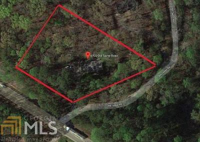 Dawsonville Single Family Home For Sale: 6705 Old Taylor Rd