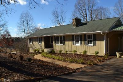 Dahlonega Single Family Home Under Contract: 944 Yahoola Rd