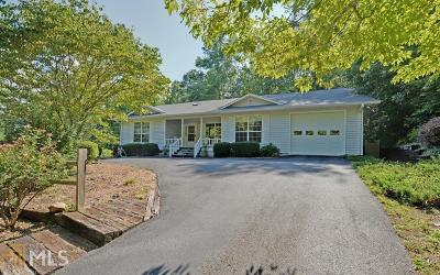 Blairsville Single Family Home Under Contract: 68 Lake Nottely Dr