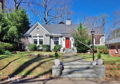 Druid Hills Single Family Home Under Contract: 1330 Emory Rd