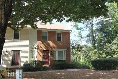 Roswell Condo/Townhouse Under Contract: 143 Holcomb Ferry Rd