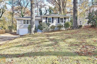 Atlanta Single Family Home New: 2812 Rollingwood Ln