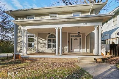 Inman Park Single Family Home For Sale: 1140 Austin Ave