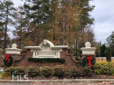 Alpharetta Condo/Townhouse Under Contract: 304 Devonshire Dr