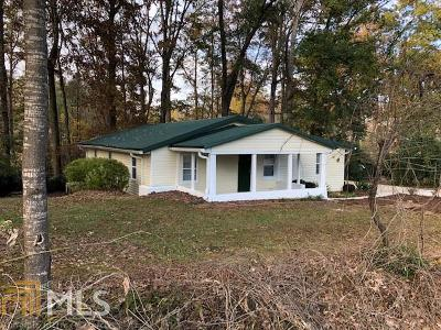 Hiram Single Family Home Under Contract: 157 Old Granger Rd