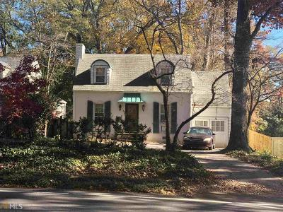 Decatur Single Family Home For Sale: 380 S Candler St