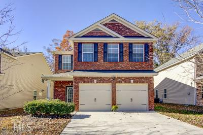 Fairburn Single Family Home Under Contract: 7771 Shertall