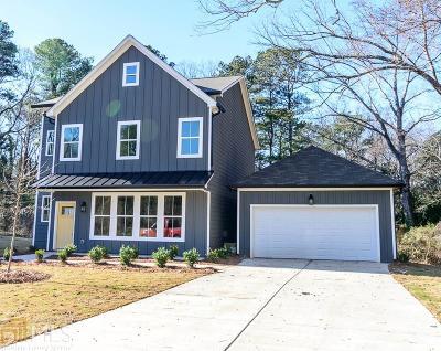 Atlanta Single Family Home New: 1940 Yellow Finch Trl