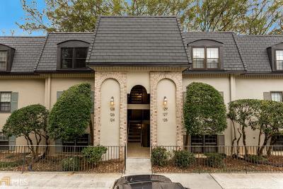 Atlanta Condo/Townhouse For Sale: 124 Elysian Way