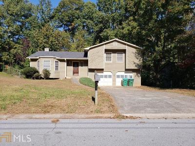 Snellville Single Family Home Under Contract: 3521 Quail Hollow Trl