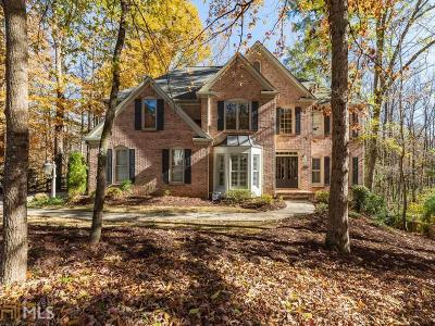 Johns Creek Single Family Home Under Contract: 10685 Cauley Creek Dr